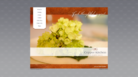 Copper Kitchen - Web Development