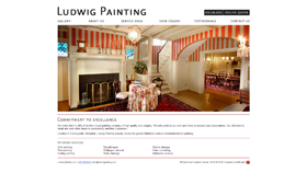Ludwig Painting, Inc. - Concept, Design, Web Development