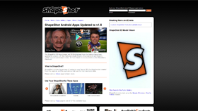ShapeShot, LLC - Concept, Design, Web Development